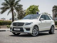 مرسيدس بنز الفئة-M 2013 AED2440/month | 2013 Mercedes Benz ML 63 Amg ...