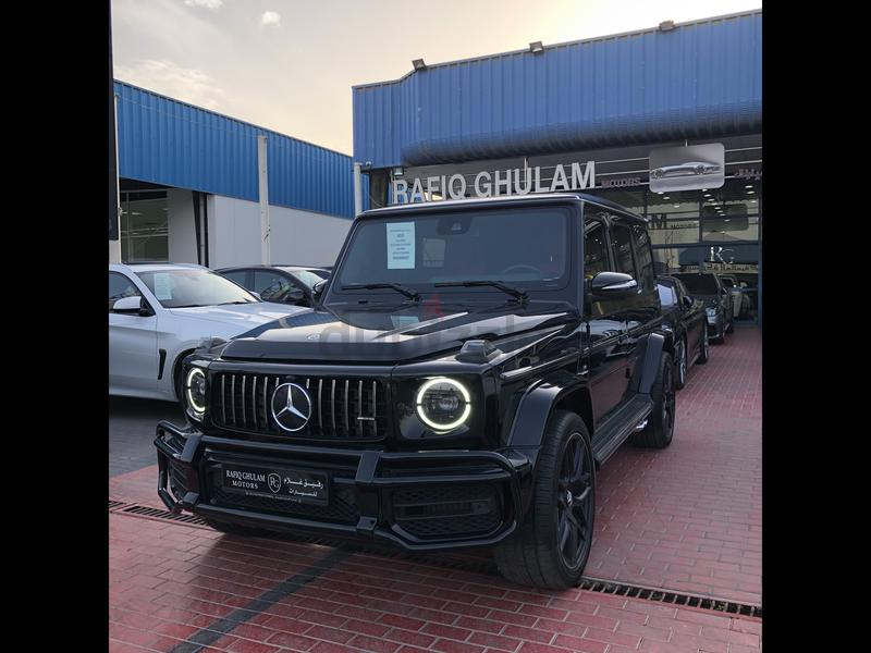 2019 G63 ///AMG night package GCC only 8000 KM