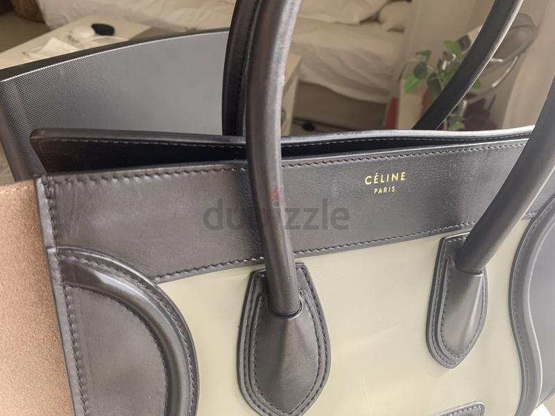 711fc08619d94 Celine Tricolor Luggage Bag - 3
