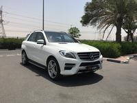 مرسيدس بنز الفئة-M 2014 MERCEDES ML350 AMG KIT 2014//GCC//FAH//FREE A...