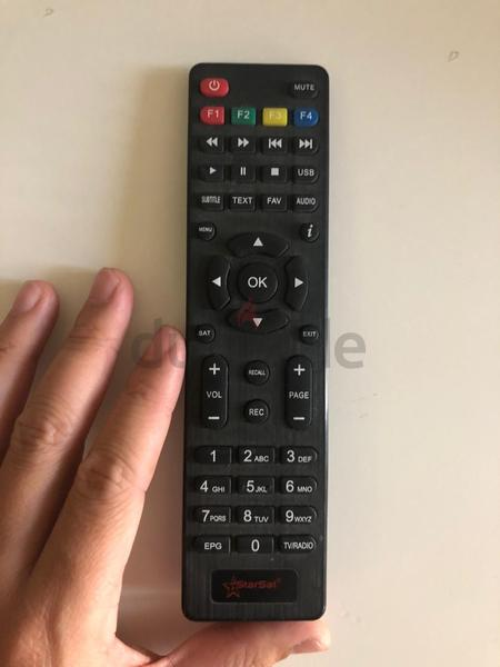 Remote control for Starsat TV box