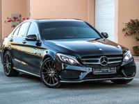 Mercedes-Benz C-Class 2016 Mercedes-Benz C200 AMG 2016 GCC under Warrant...