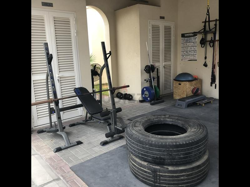 Dubizzle dubai weights and exercise machines home gym equipment