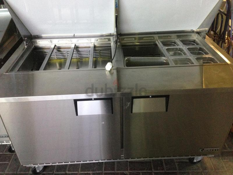 Dubizzle Dubai Refrigeration Ice Salad Bar Under Chiller For Sale
