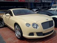 Bentley Continental 2012 Bentley Continental GT  V12  2012  Gcc