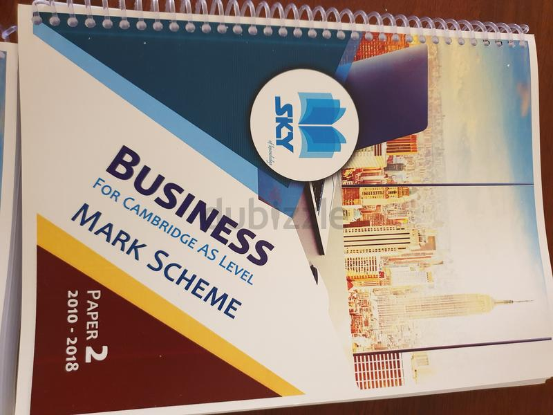Full set for As Business Cambridge including notes exams