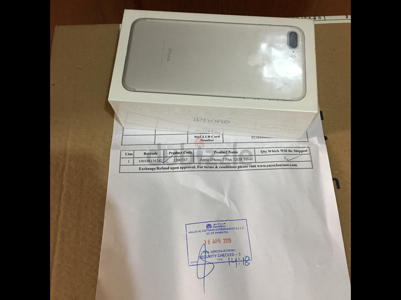 IPHONE 7 PLUS CARREFOUR WARRANTY SEALED 32GB FIXED PRICE