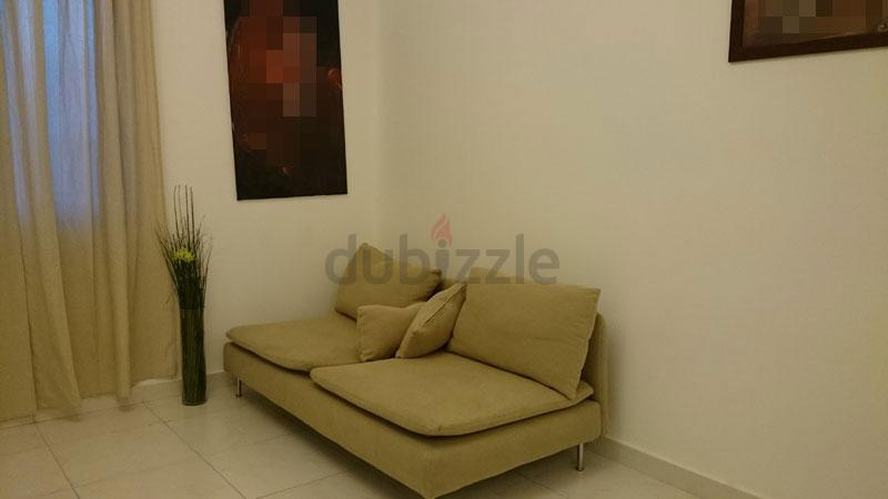 IKEA sofa cum bed 2-seater single bed in Ajman Show Phone Number