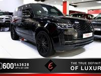 Land Rover Range Rover 2018 (2018) VOGUE SE BLACK EDITION WITH DEPLOYABLE...
