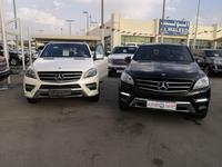 مرسيدس بنز الفئة-M 2013 ML350 GCC AMG TOP OPTIONS 1ST OWNER .IMMACULA...