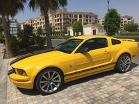 Ford Mustang 2006 Yellow - Black V6, Saleen Mustang