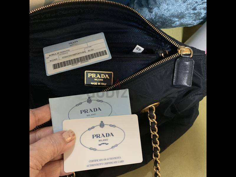 203eb75ea493 dubizzle Sharjah | Women's Handbags: Prada Nylon Quilted Chain Bag