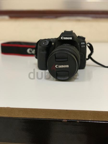 Canon 80 D with 18-135 Lense ( Used only for 8-10 Occasions )