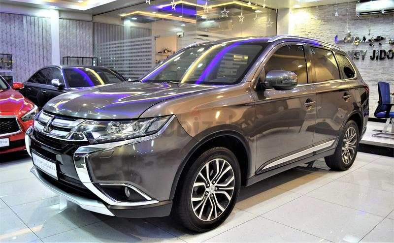 LIKE NEW Mitsubishi Outlander 2016 Model GCC SPECS