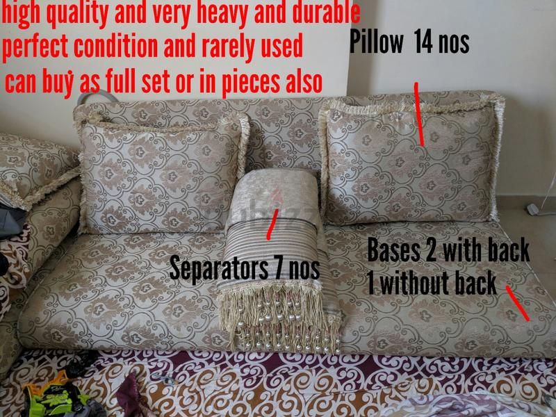 Majlis sofa - High End and Perfect condition