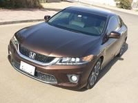 هوندا أكورد 2013 GCC V6 ACCORD Coupe #1 No accident and low mi...