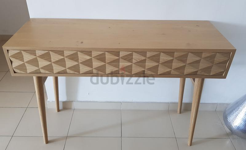 Wooden console from Maisons du Monde (brand new)