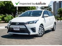 Toyota Yaris 2017 AED521/month | 2017 Toyota Yaris Se 1.3L  | F...