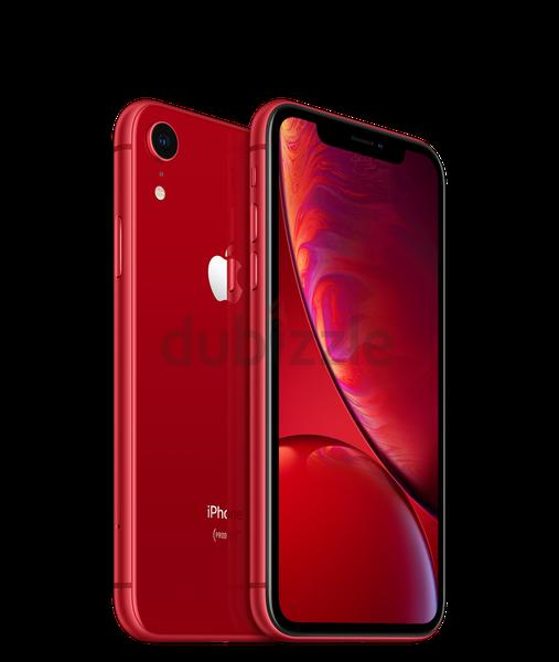 I PHONE XR 128GB RED (BRAND NEW SEALED)