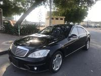 مرسيدس بنز الفئة-S 2007 GRADE 4B BENZ S600L BLACK 2007 LOW MILEAGE FR...