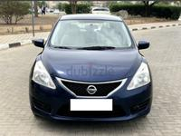 Nissan Tiida 2015 Nissan Tiida 1.6 L Engine 2015 Blue for sale