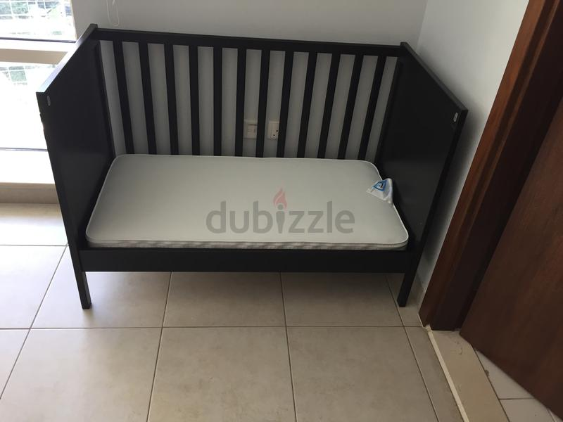 wholesale dealer bf505 4860b IKEA Sundavik Cotbed + Mothercare mattress