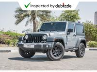 Jeep Wrangler 2017 AED1421/month | 2017 Jeep Wrangler Willys Edi...