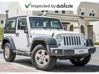 Jeep Wrangler 2016 AED1257/month | 2016 Jeep Wrangler Sport 3.6L...