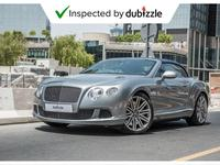 Bentley Continental 2014 AED8674/month | 2014 Bentley Continental GTC ...