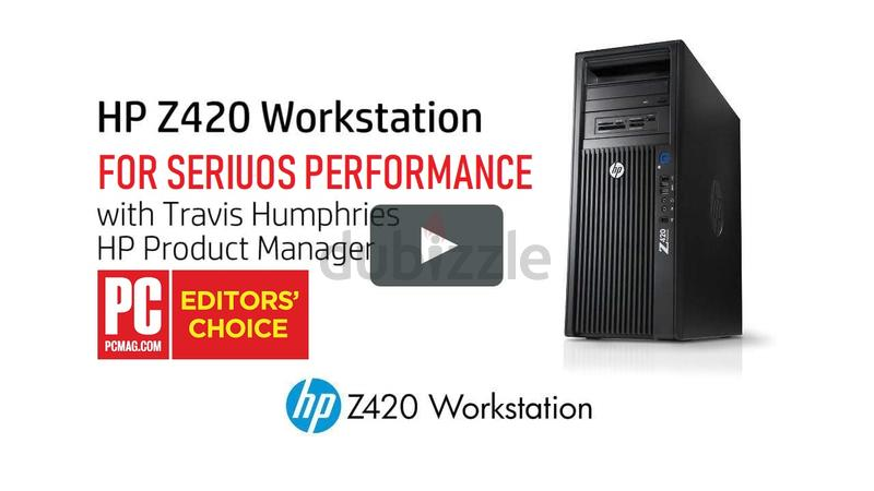 HP Z420-XEON EXTREME RENDERING/GAMING WORKSTATION PC
