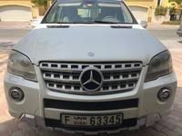 مرسيدس بنز الفئة-M 2010 Mercedes Benz ML350 White Great Condition