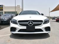 Mercedes-Benz C-Class 2019 BRAND NEW A.M.G. C-43 COUPE 2019 POLAR WHITE ...