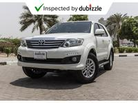 Toyota Fortuner 2015 AED1258/Month | 2015 Toyota Fortuner 60th Ann...