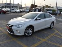 Toyota Camry 2016 TOYOTA CAMRY 2016 White Gcc Perfect Condition