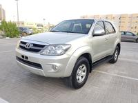 Toyota Fortuner 2006 TOYOTA FORTUNER 2006 G.C.C 2.7 4CYLINDER IN E...