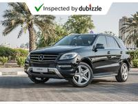 مرسيدس بنز الفئة-M 2013 AED1448/month | 2013 Mercedes-Benz ML350 3.5L...