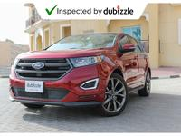 Ford Edge 2016 AED1557/month | 2016 Ford Edge Sport 2.7L | F...
