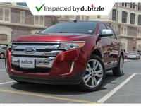 Ford Edge 2014 AED954/month | 2014 Ford Edge Limited 3.5L | ...