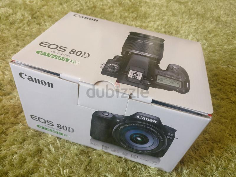 Canon 80D EFS 18-200 IS kit