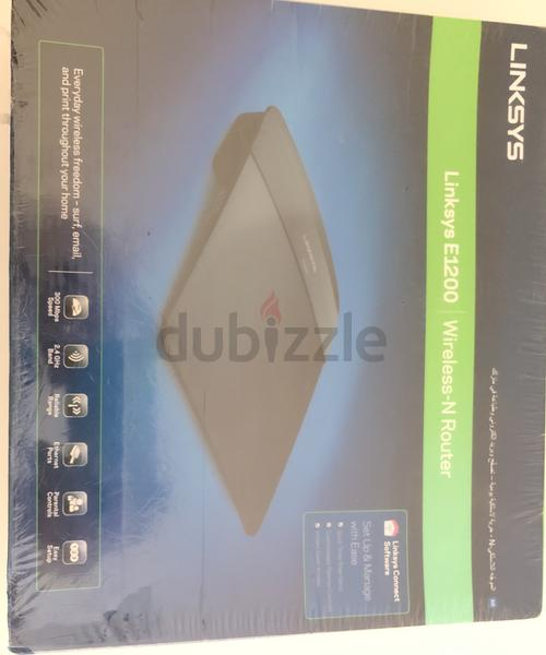 Linksys E1200 ~ Wireless Router  @ 100/-