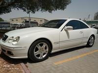 Mercedes-Benz CL-Class 2004 Mercedez CL 500, White color very Low milage