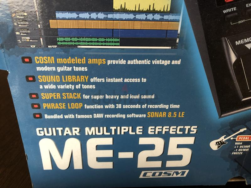 BOSS ME - 25 Multiple Effects Pedal