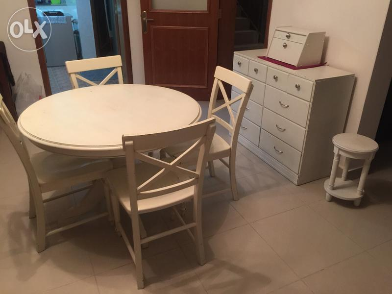 Solid Wood Dining Room Set For Sale Olx Dubizzle Oman